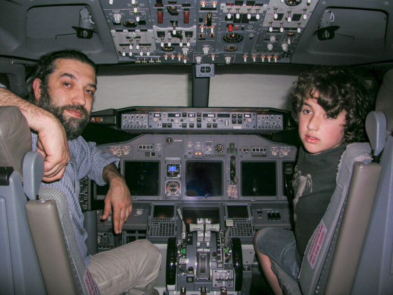 Derin Bey ile IFTC Boeing Simülatöründeyiz